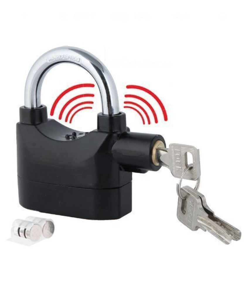 DREAMSKART Alarm Lock Anty Motion Siren For Home, Bike, Shop, Office, Locker