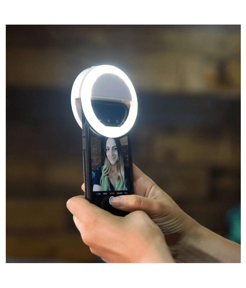 NASK White NA Selfie Flash Light   10 cm