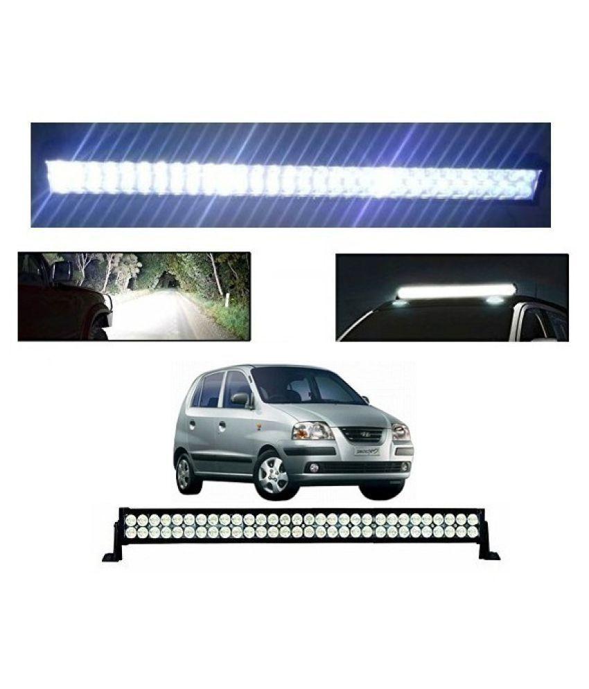Trigcars Hyundai Santro Xing GL Bar Light Fog Light 32Inch 120Watt