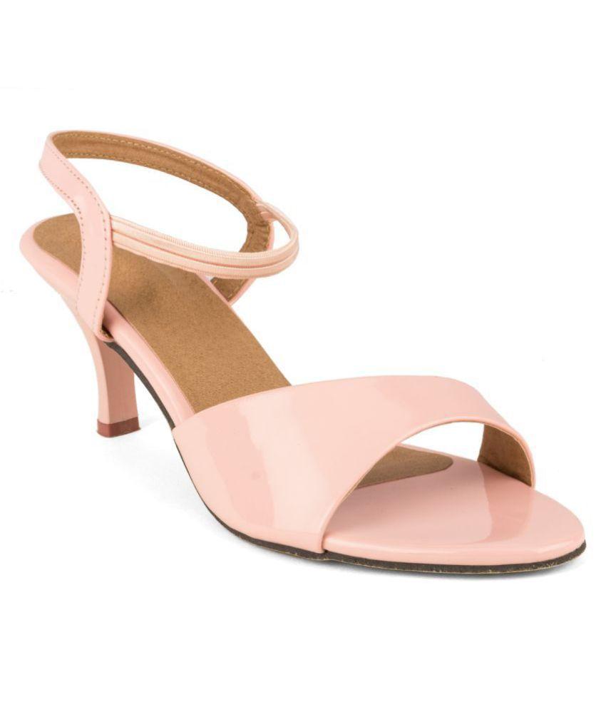 Cute Fashion Pink Kitten Heels