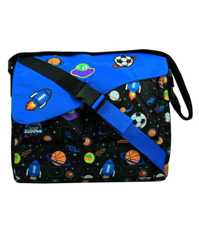 Smily Kiddos Black School Bag for Boys & Girls