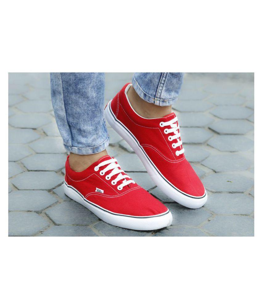 VANS Sneakers Red Casual Shoes - Buy