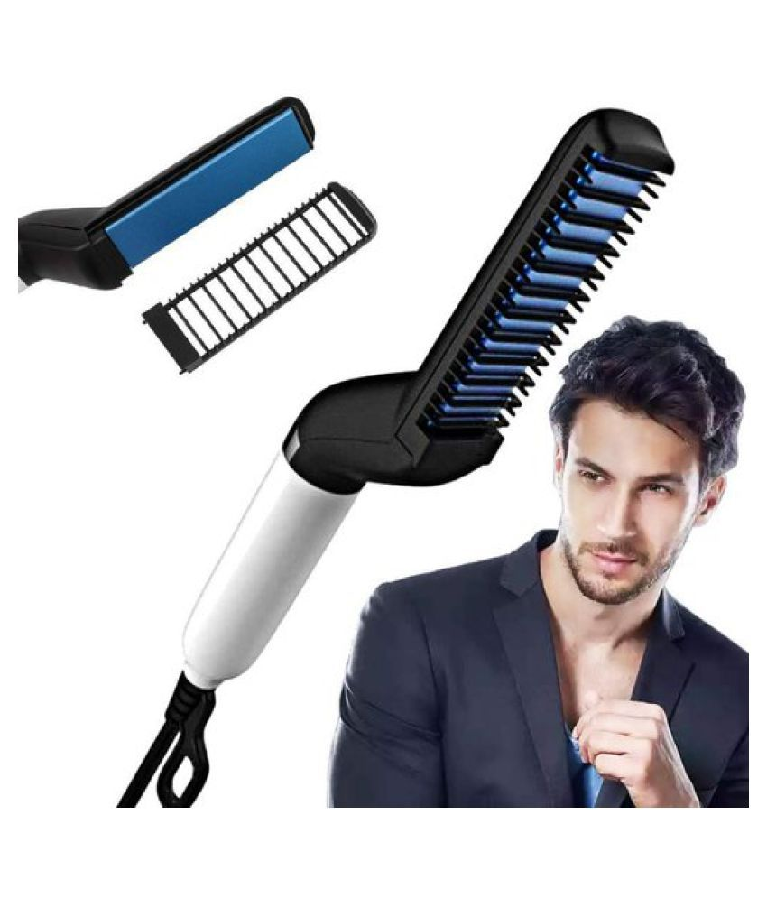 YUVAAN TRADERS Quick Beard Straightener Hair Styler Upgraded Electric Anti Scald Modeling Comb