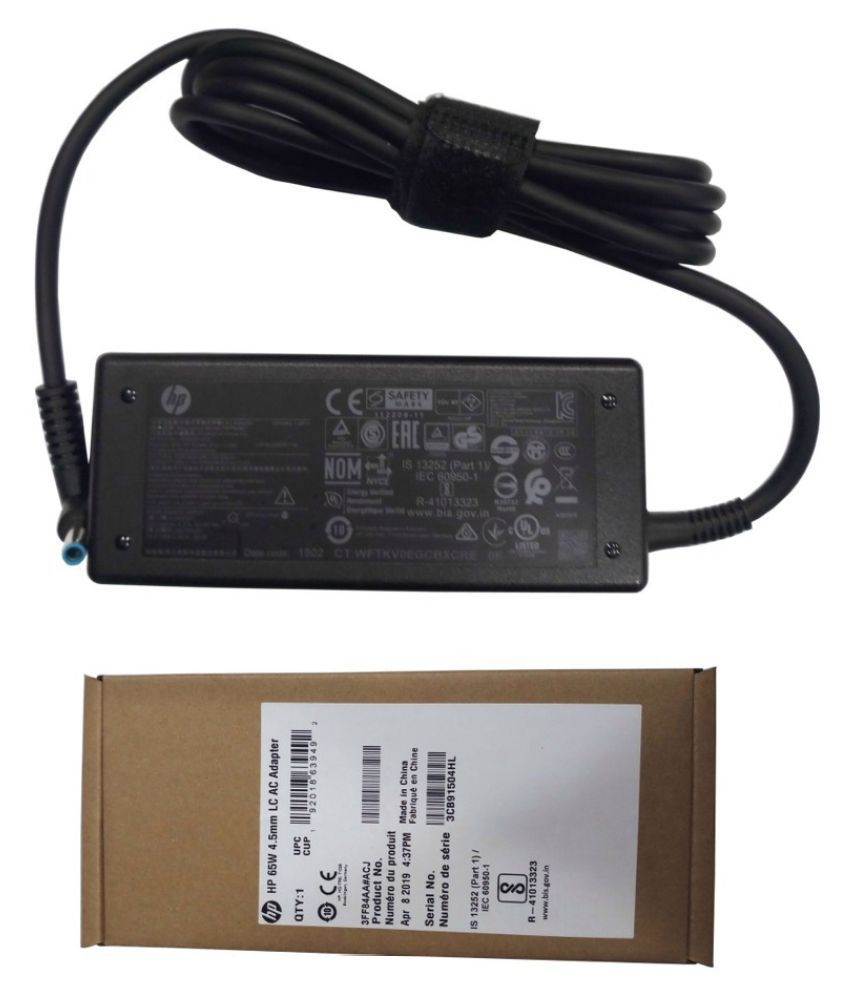 Original Genuine HP Laptop adapter compatible For HP 14-X056NA 65W 19.5V 3.33A Battery Charger Power Supply Unit