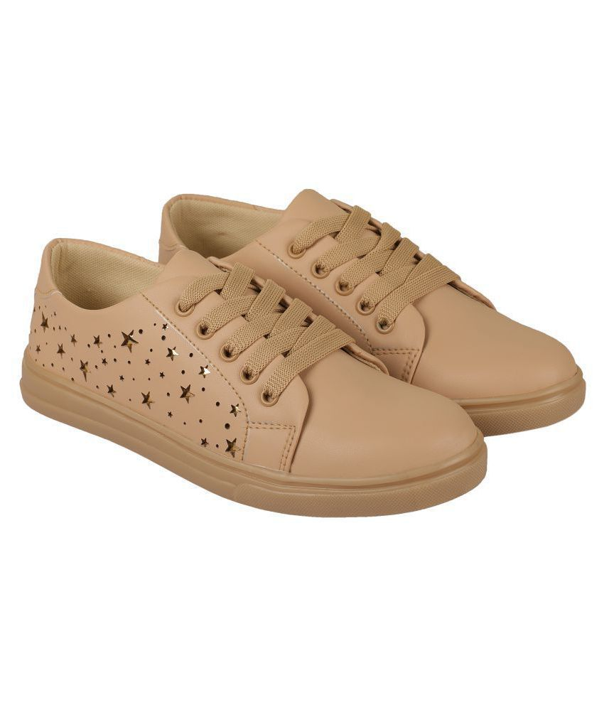 ZAVO Brown Casual Shoes