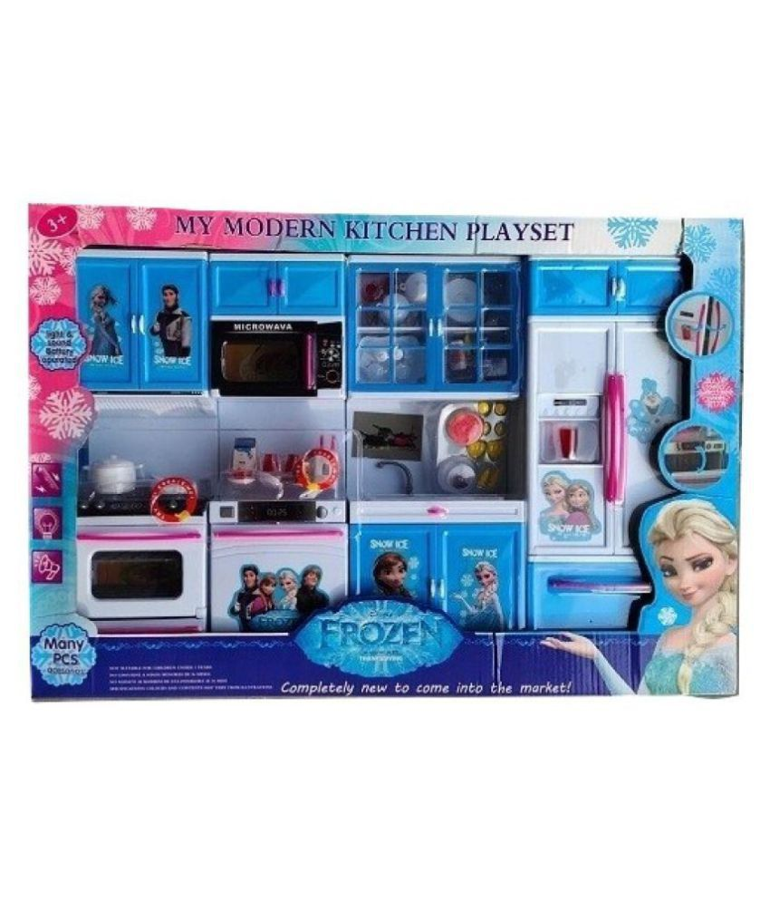 Hayward Toys Represents My Frozen Kitchen Modern Play Set For Kids Buy Hayward Toys Represents My Frozen Kitchen Modern Play Set For Kids Online At Low Price Snapdeal
