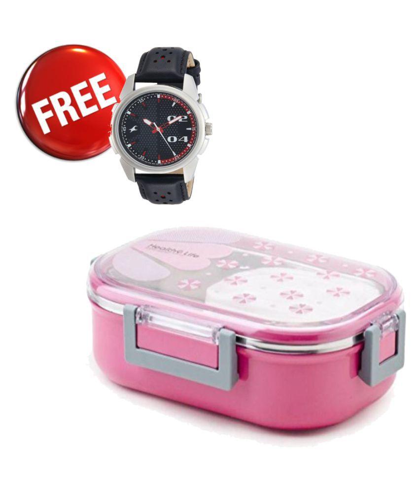 SKYLARK Pink Lunch Box