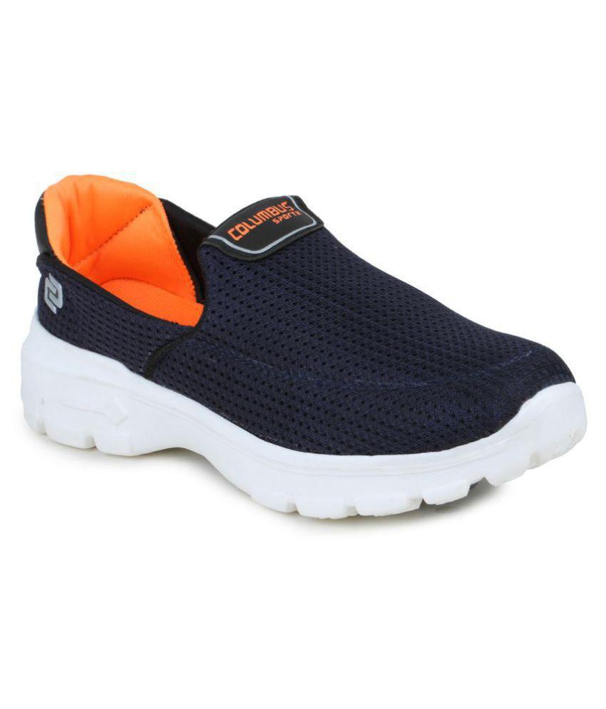 Columbus Lifestyle Orange Casual Shoes