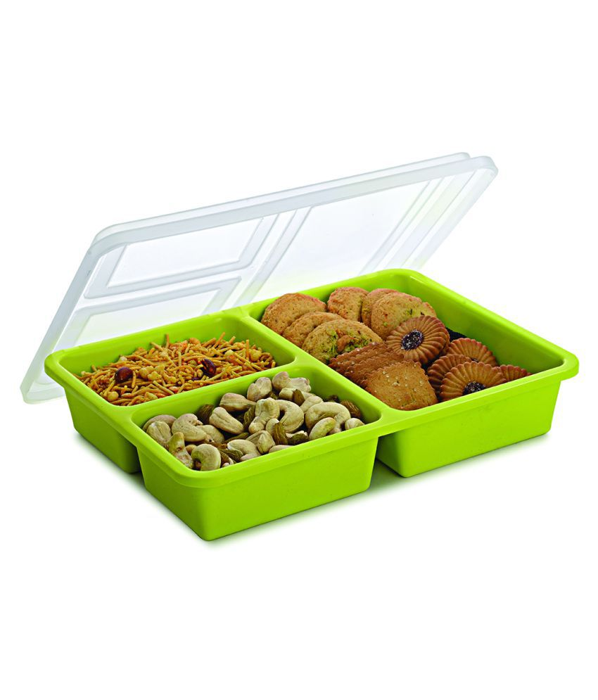 JVS Polycarbonate Food Container Set of 1 1225 mL