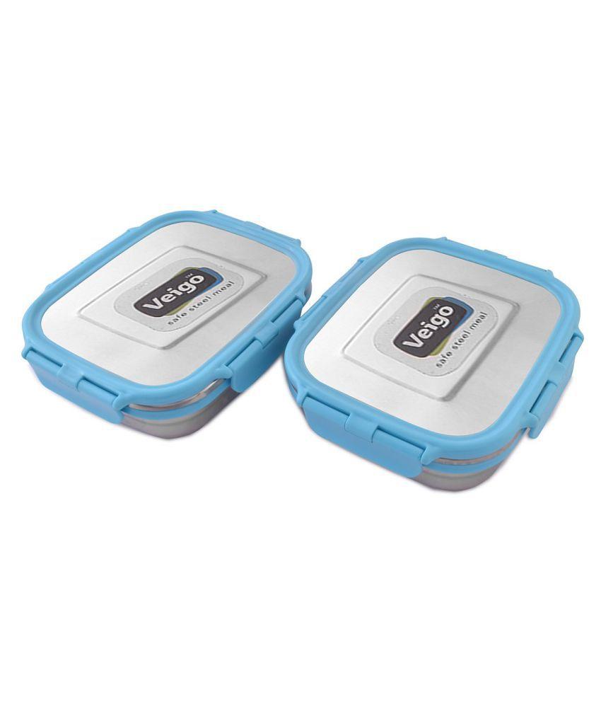 Veigo Blue Stainless Steel Lunch Box