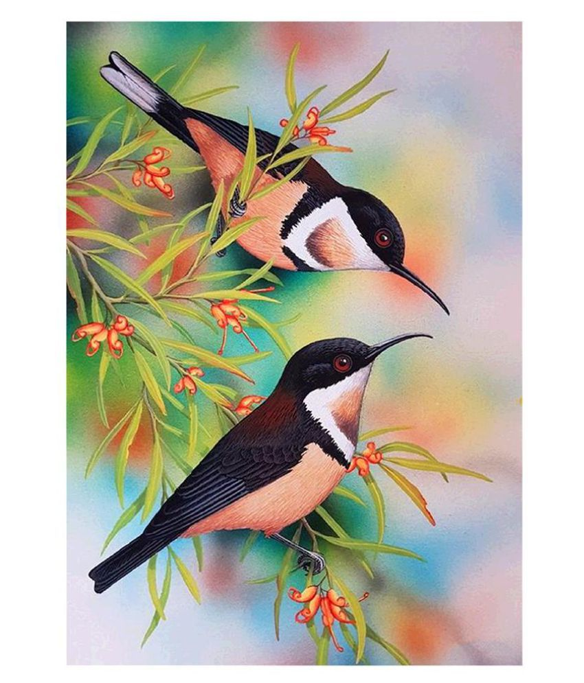 5D DIY Full Drill Diamond Painting Bird Embroidery Mosaic Craft Kits Decor BEST