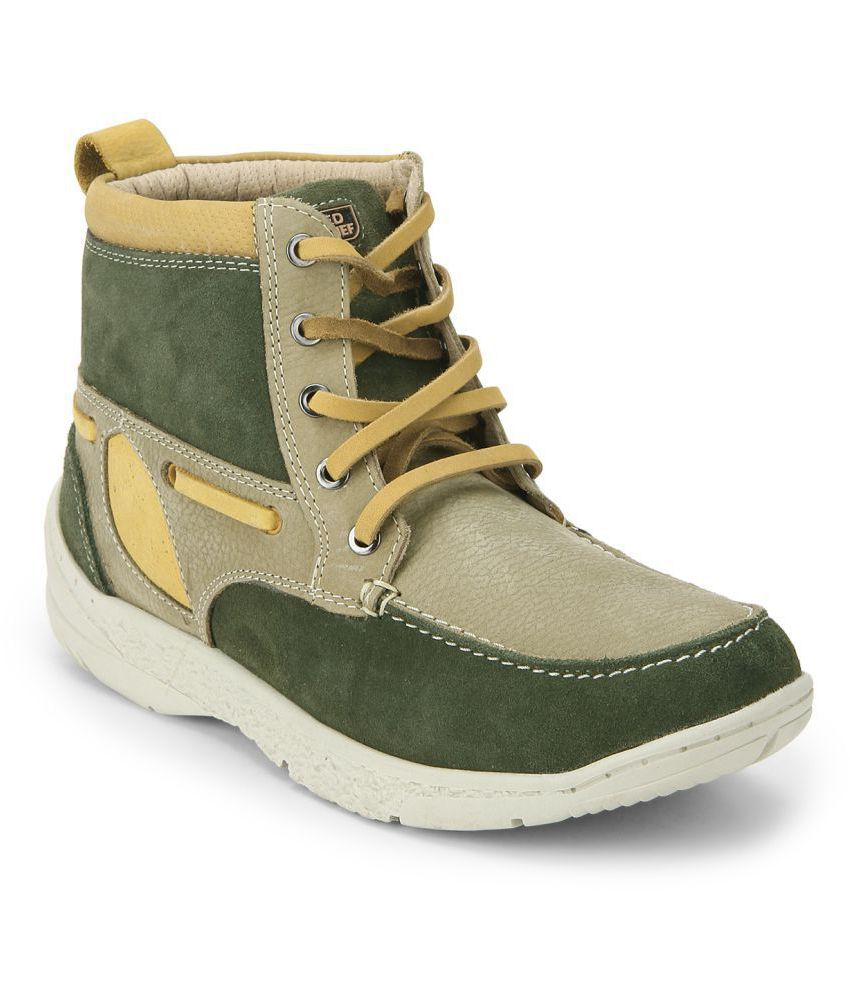 Red Chief Outdoor Olive Casual Shoes