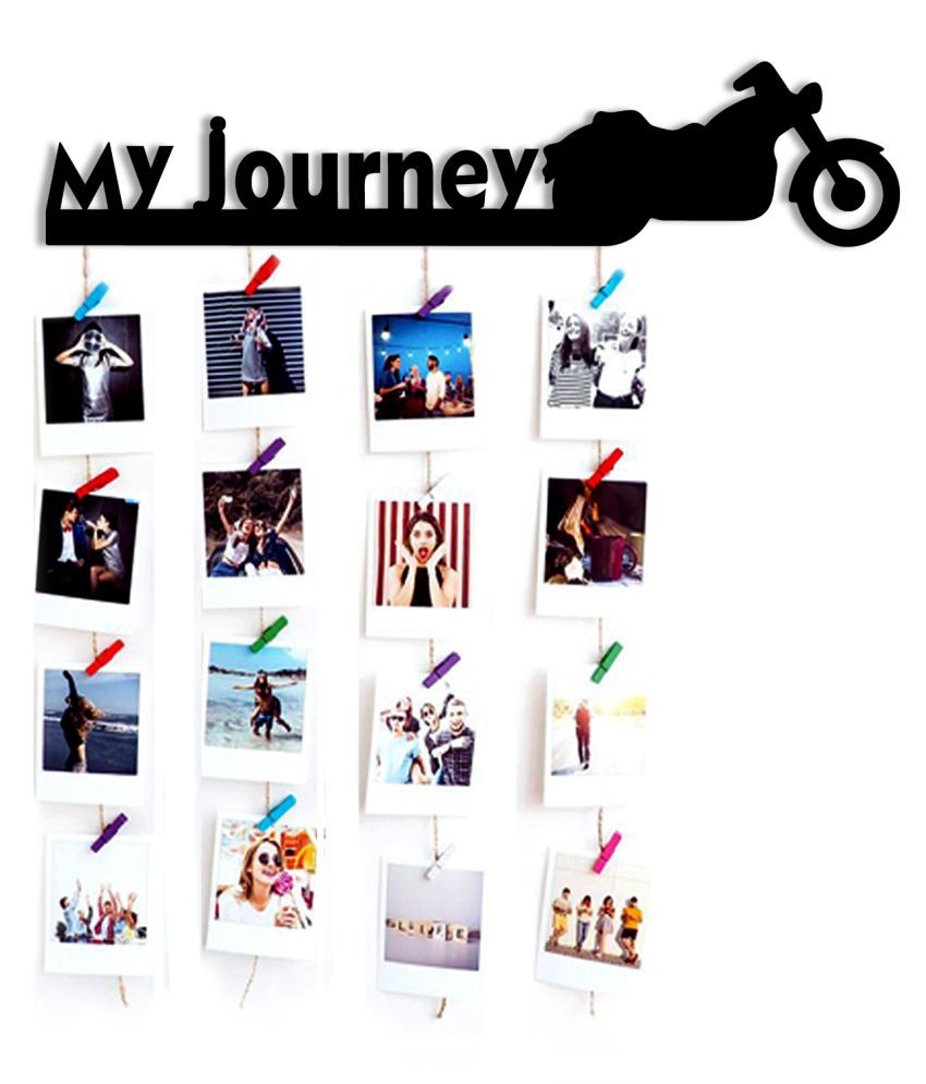 VAH VAH my Journey wooden Hanging photo Wall Hanging Wood Photographs Without Frame