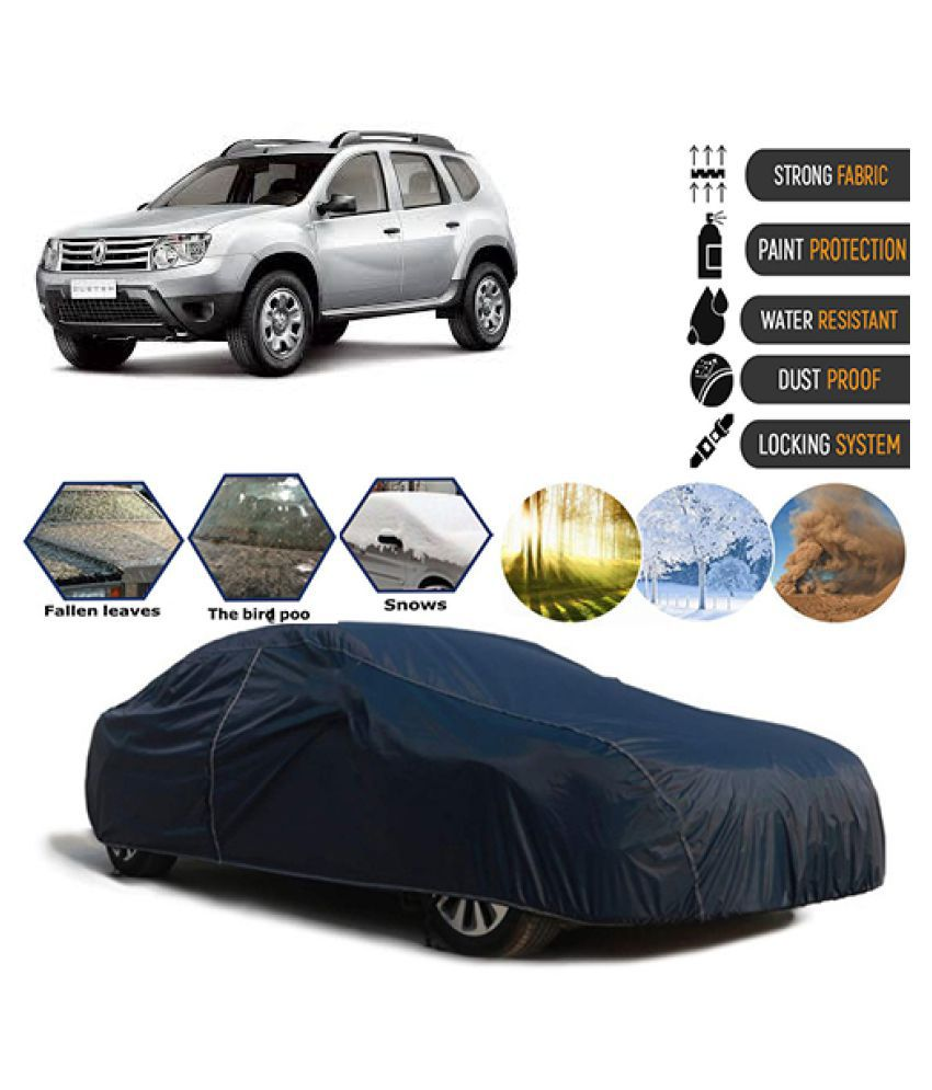 Goldkart Car Body Cover for Renault Duster [2012-2015] Blue