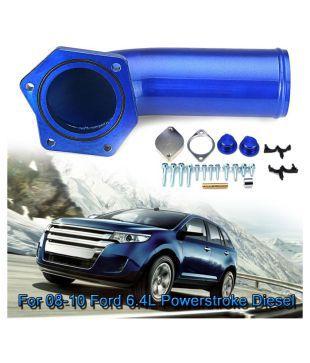 08-10 Ford 6.4L Powerstroke Diesel EGR Valve /& Cooler Delete Kit w// Intake Elbow