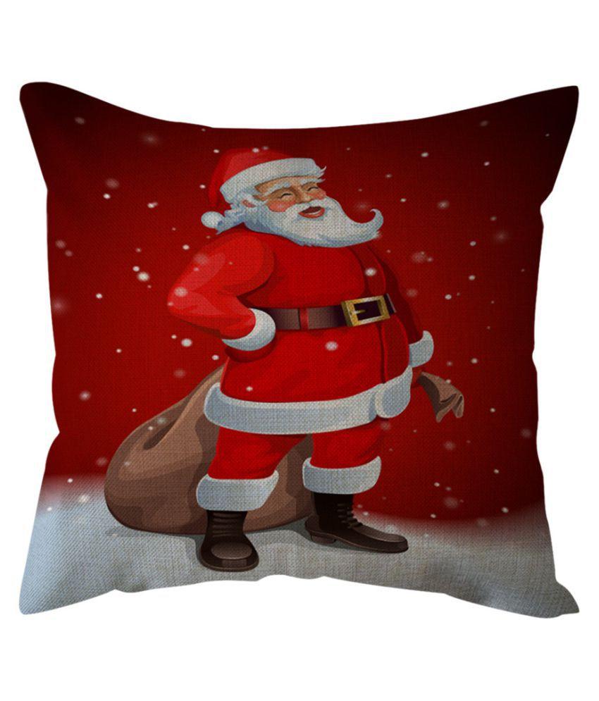 18/'/' Xmas Cotton Pillow Case Linen Cushion Cover Merry Christmas Home Decoration