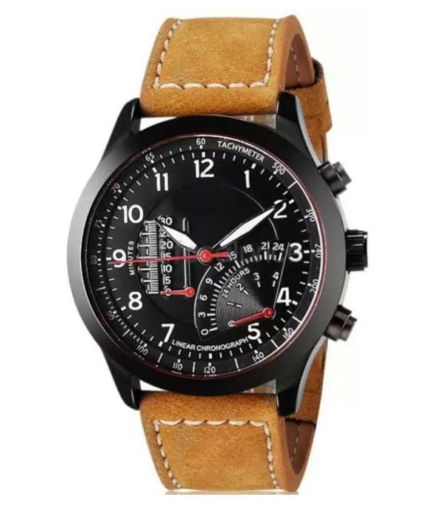 Satyam Enterprise curren Leather Chronograph Men #039;s Watch