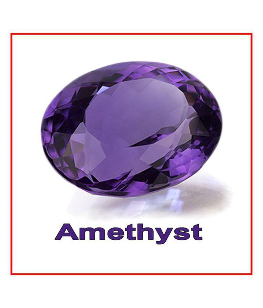 Maya Gems/Natural Amethyst For Unisex Gemstone