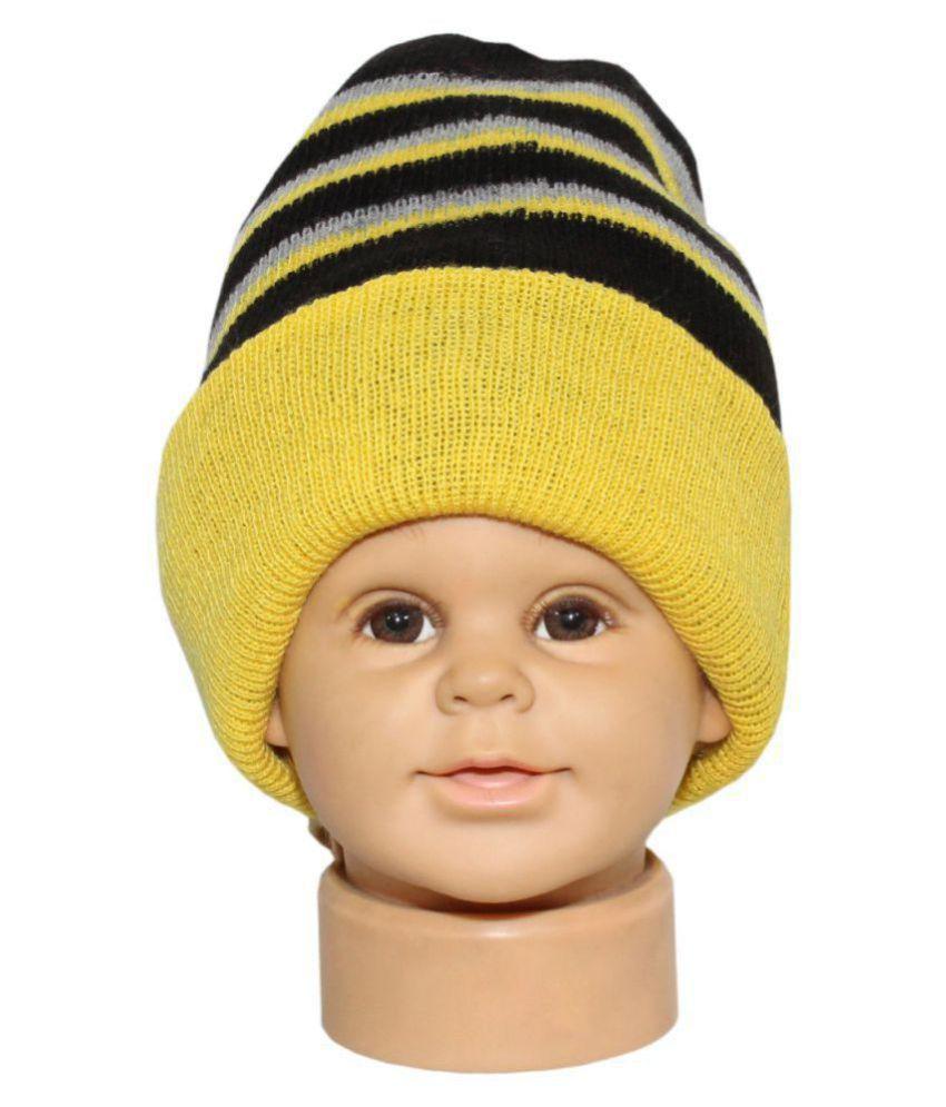 Goodluck Girls Winter Wollen Cap For Kids