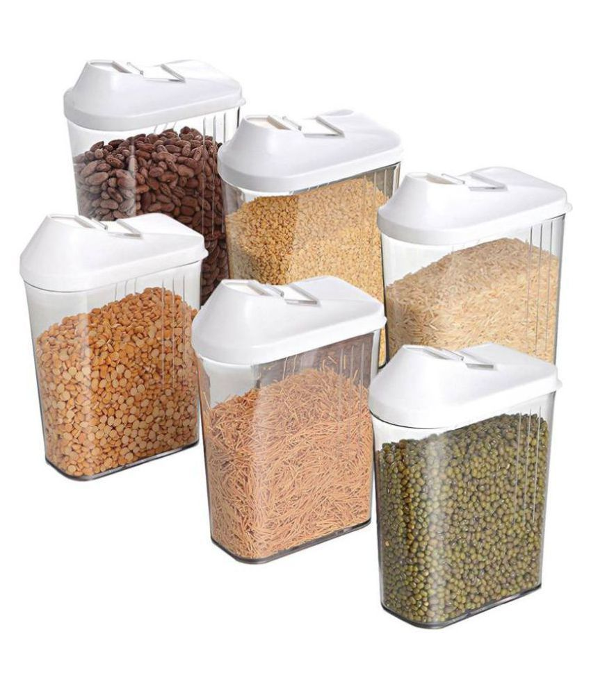 Avsar Polyproplene Food Container Set of 6 750 mL
