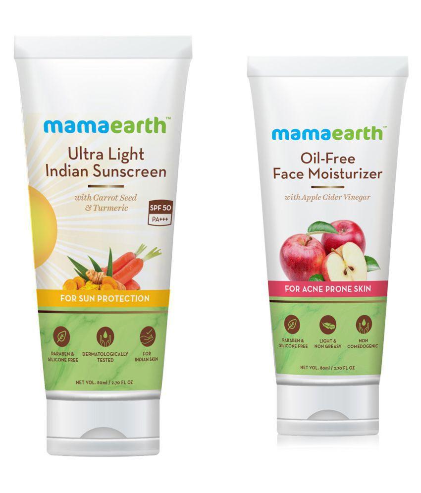 Mamaearth Sunscreen Cream 160 mL Pack of 2