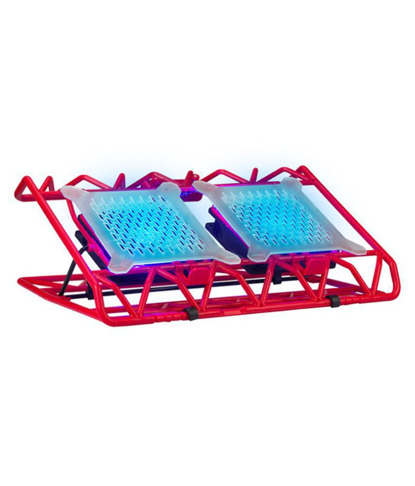 Zebronics Cooling Pad For Upto 38.1 cm  15  Red