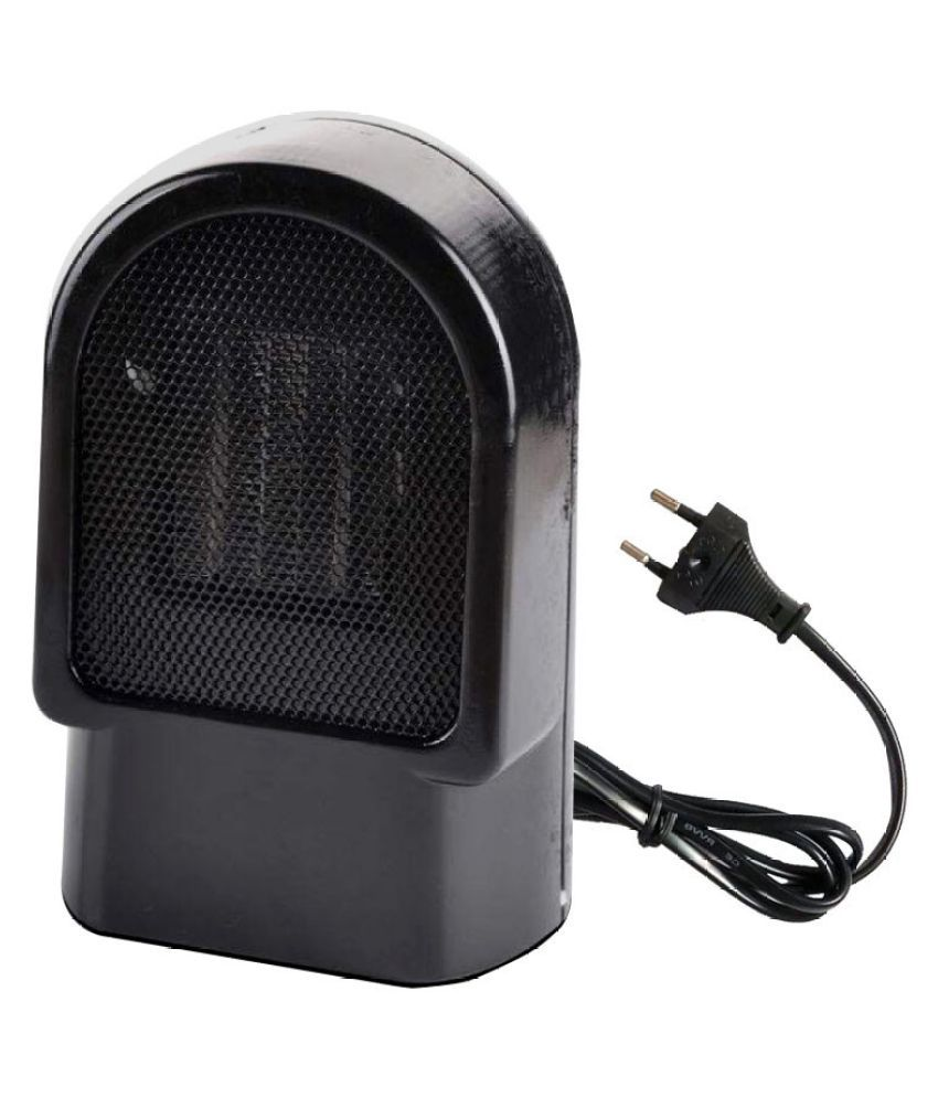 500W Portable Oscillating Ceramic Heater Electric Handy Air Warmer Home Hot Fan