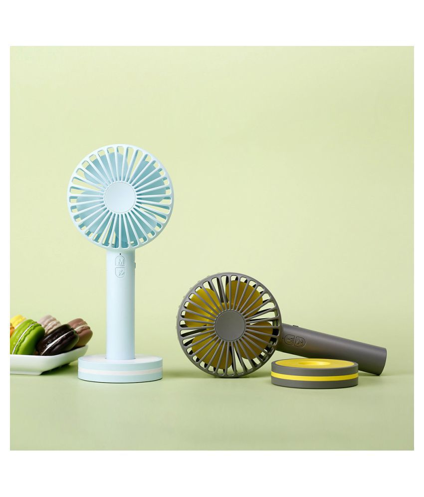 Portable Mini USB  Hand-held Fan Cooler Rechargeable Air Conditioner