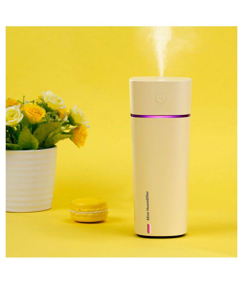 USB Mini Humidifier Night Light LED Humidifier Air Diffuser Purifier Atomizer YE