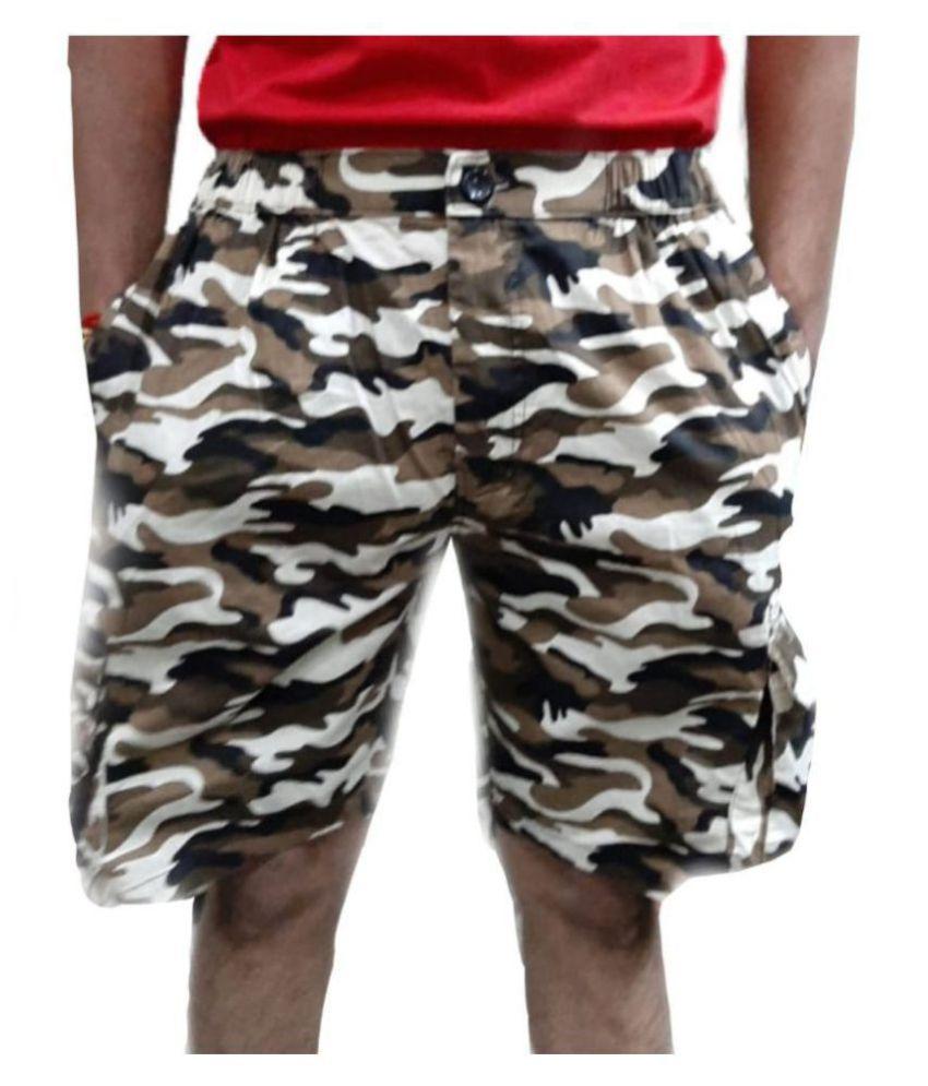 LIVSTER Brown Shorts