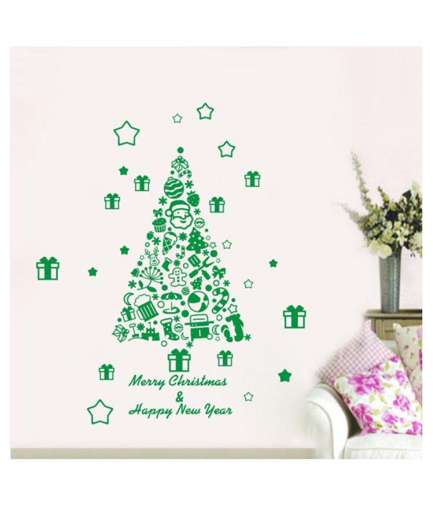 High Quality Creative Christmas Wall Sticker Wall Decal Sticker Removeable