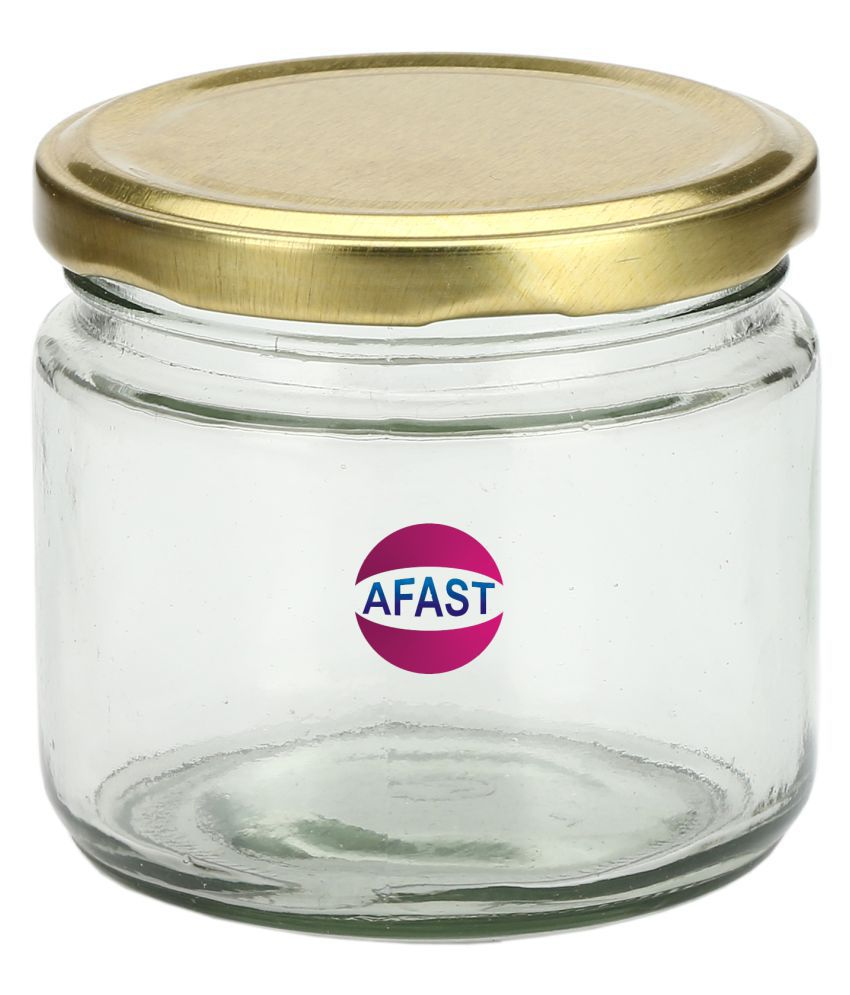 AFAST Bx006 Glass Tea/Coffee/Sugar Container Set of 1 300 mL