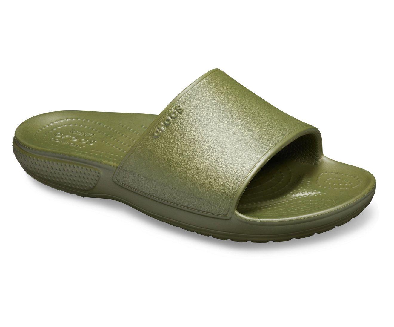 Crocs Classic II Kids Green Slide