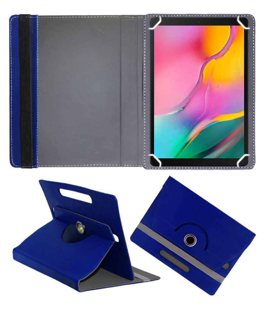 Samsung Galaxy Tab A 10.1 2019 Flip Cover By FASTWAY Blue