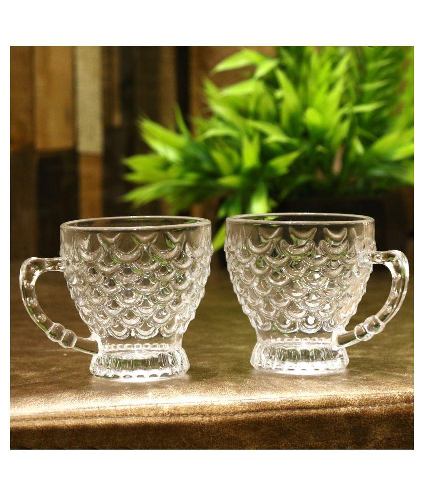 AFAST Glass Tea Cup 2 Pcs 180 ml