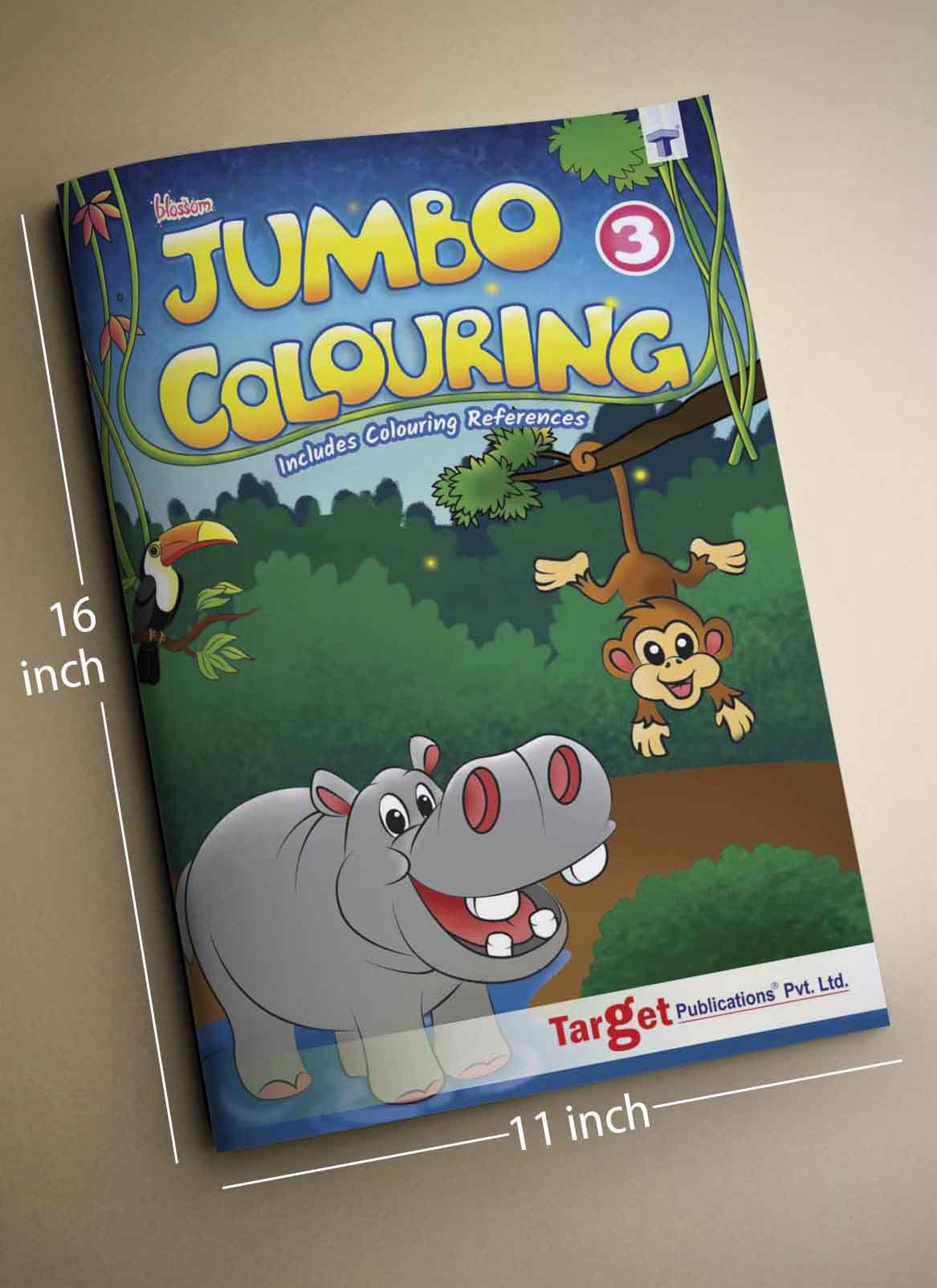 Blossom Jumbo Colouring Books For SDL 2 831e0