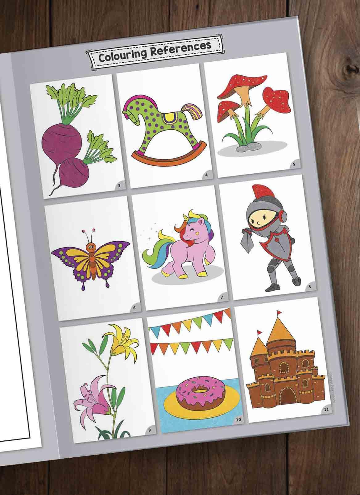 Blossom Jumbo Colouring Books for SDL 8 eeb3e