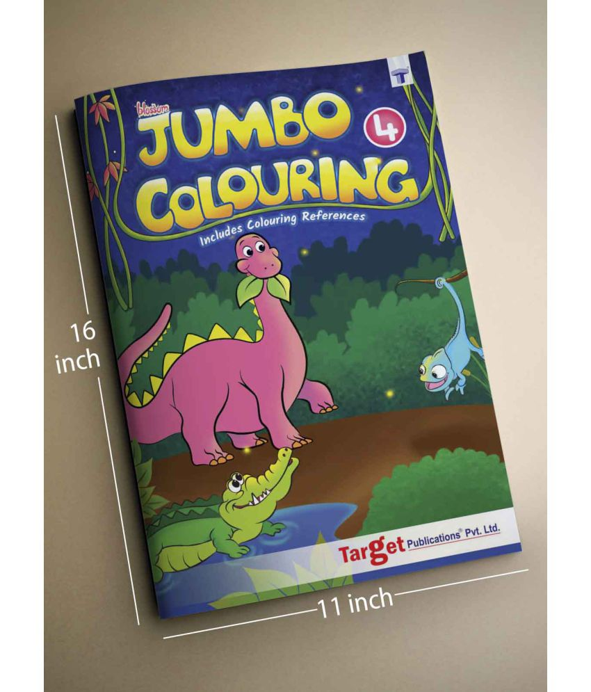 Blossom Jumbo Colouring Book For SDL 2 d66e8