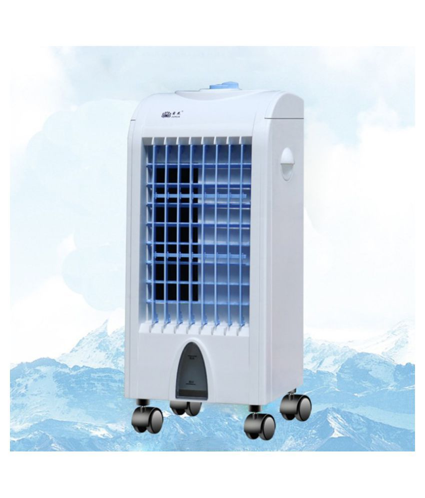 Household Air Cooler Single Cold Type Electric Fan Mobile Vertical Cooling Fan