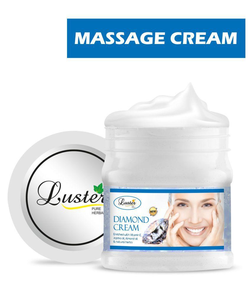 Luster Diamond Massage Cream with Vitamin E & Almond oil Cream