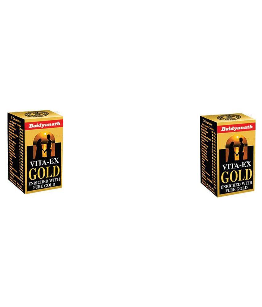 Baidyanath VITA EX GOLD Capsule 20 no.s Pack Of 2