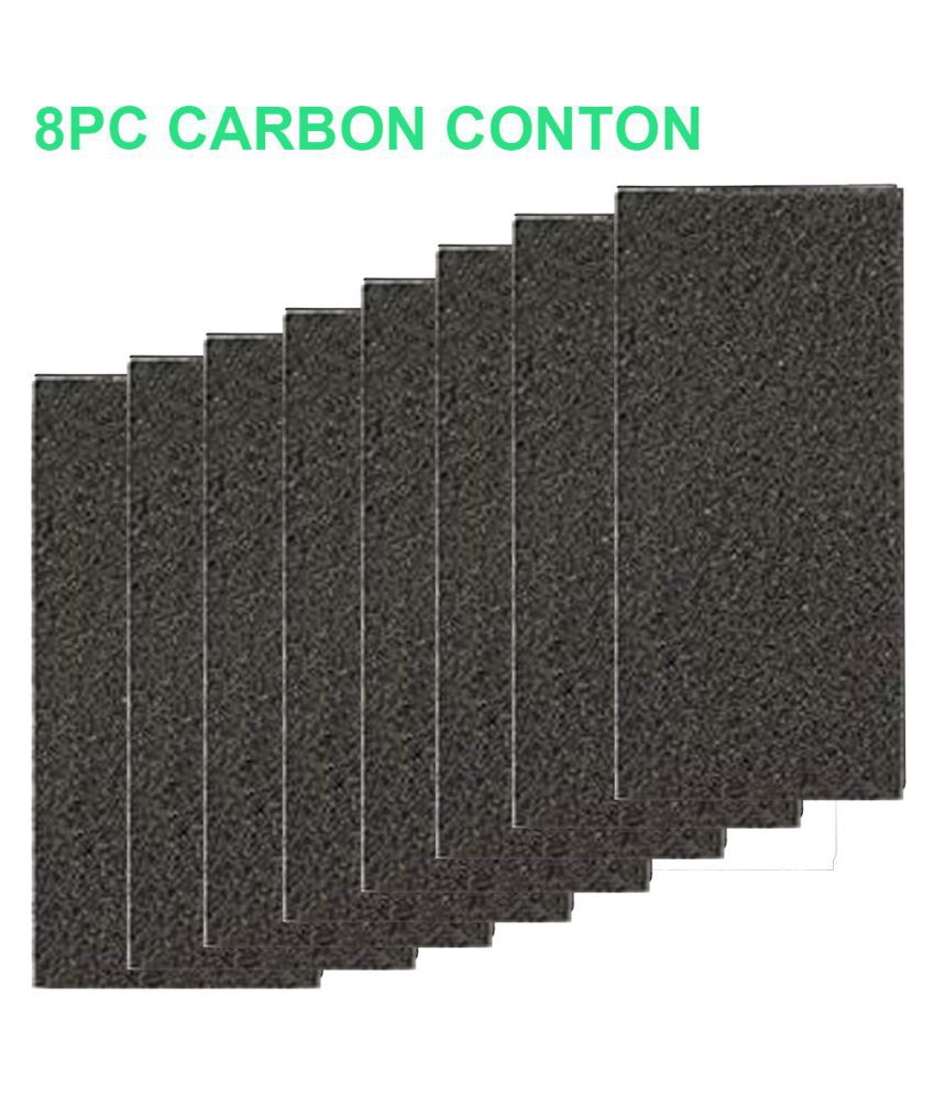 8PC Carbon Cotton for Honeywell HPA060//HPA160//HPA050//HPA150//HHT055 Air Purifier