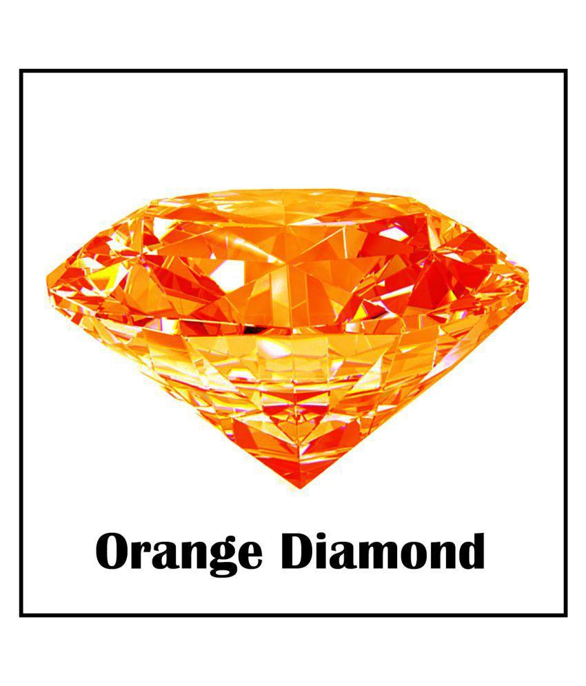 Maya Gems/ Best Quality Orange Diamond Gemstone