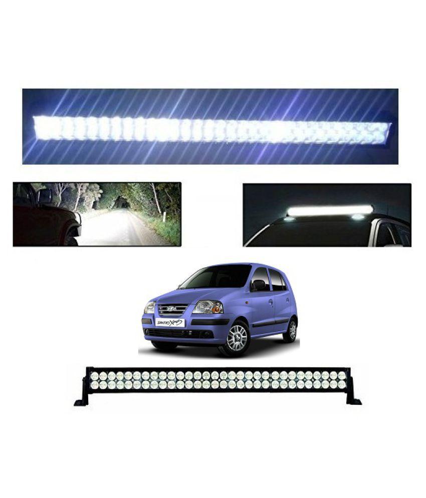Trigcars Hyundai Santro Xing ERLX Bar Light Fog Light 41Inch 120Watt