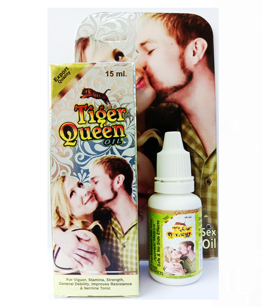 Herbal Care Tiger Queen 15ml Pack (For Men) Oil 15 ml Pack Of 2