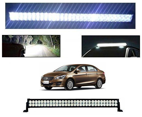 Trigcars Maruti Suzuki Ciaz Bar Light Fog Light 41Inch 120Watt