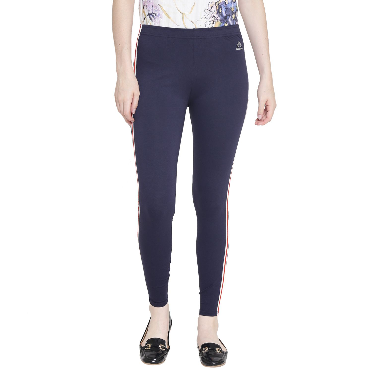 Ds Fashion Cotton Jeggings - Navy