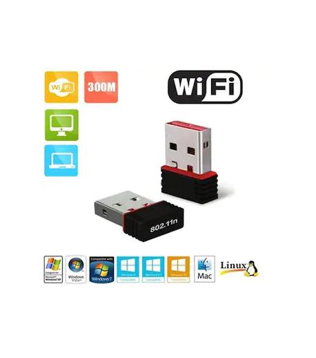 Terabyte Wifi Dongle 300Mbps Wi Fi 2.4Ghz USB Adapter