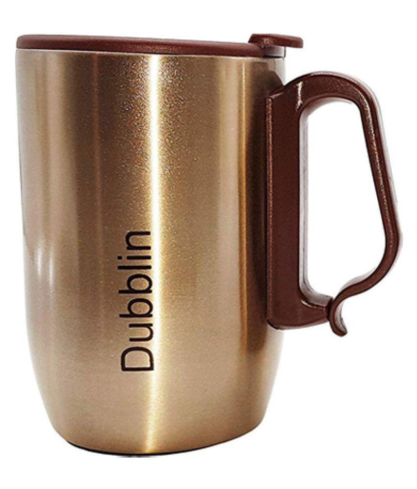 tantia Steel Milk Mug 1 Pcs 350 mL