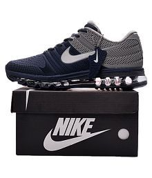 Nike AirMax 2017.5 Rubber Grey Running Shoes